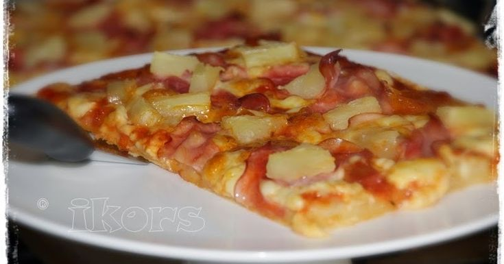 Pizza Hawaii vom Zauberstein