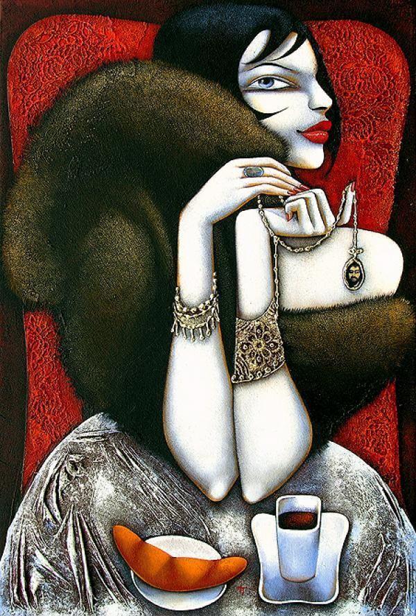 Paintings by Ira Tsantekidou | Art and Design