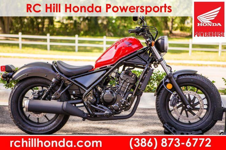 2017 Honda CMX500H for sale in DeLand, FL | RC Hill Honda Powersports (866) 430-1177