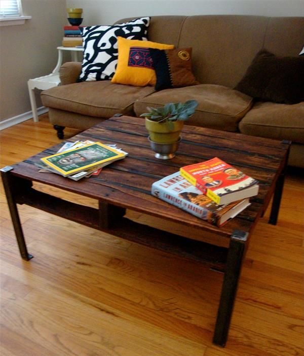 44 Best Images About Diy Pallet Tables On Pinterest