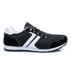 CZARNE BUTY SPORTOWE, lekkie trampki z białymi akcentami Damskie buty sportowe idealne do uprawiania sportów. Buty są lekkie - nie obciążają stóp. Wyposażone w klasyczne sznurowanie. Piankowa podeszwa, wzmocniona dodatkowo warstwą gumy. Zgrabnie prezentują się na stopie. Materiał: tekstylny https://cosmopolitus.eu/product-pol-42785-CZARNE-BUTY-SPORTOWE-lekkie-trampki-z-bialymi-akcentami.html #tenisowki #trampki #damskie #sneakersy #slipon #adidasy #nike #sportowe
