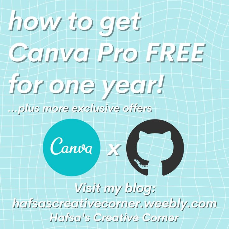 how to get Canva Pro free for a year in 2020 Cool