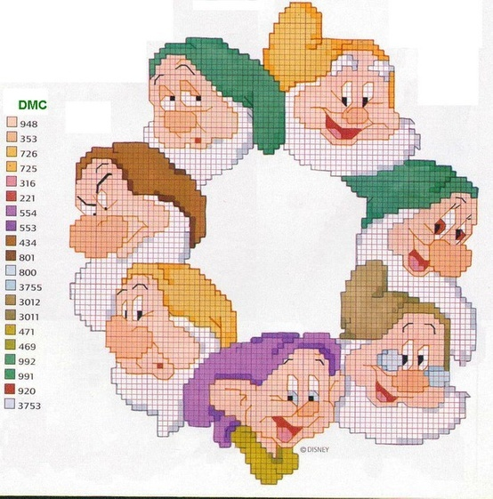 Seven dwarfs.  Looks like I could just do Happy