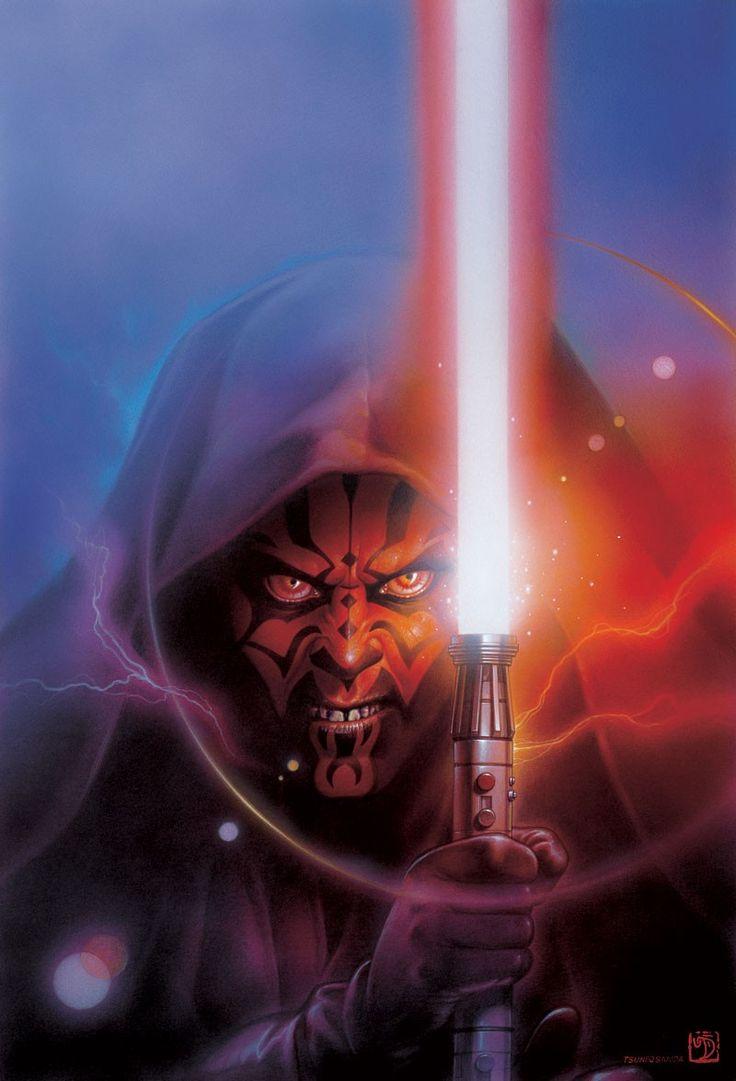 Star Wars - Darth Maul by Tsuneo Sanda #art #starwars #darthmaul