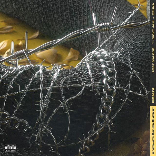 """""""rockstar - Remix"""" by Post Malone Nicky Jam Ozuna was added to my Discover Weekly playlist on Spotify"""