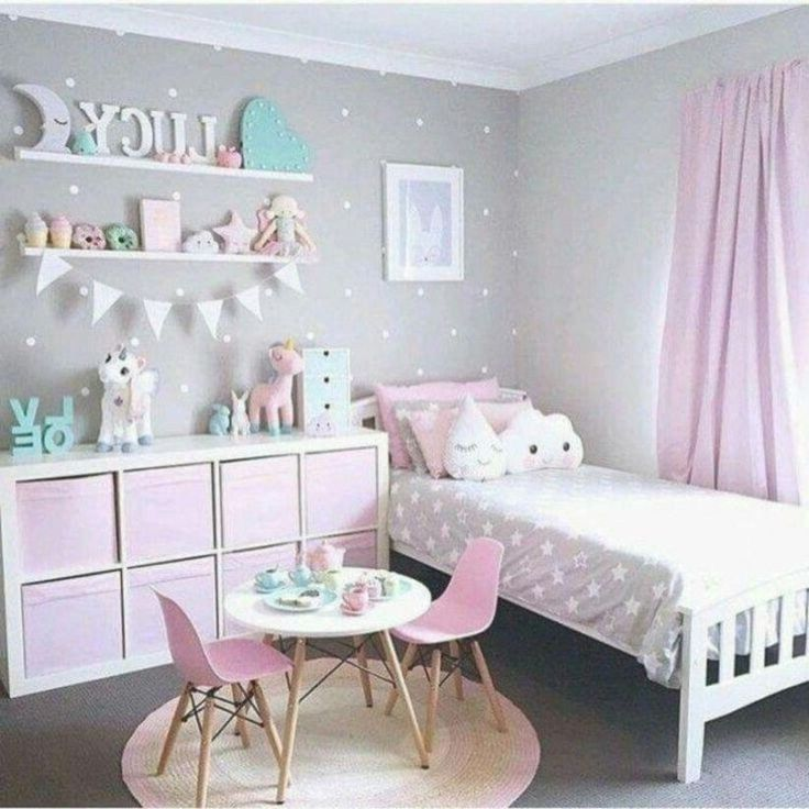 40 Best Bedroom Ideas For Kids On A Budget 17 Autoblog In 2020 Girl Bedroom Decor Toddler Bedroom Girl Toddler Bedrooms