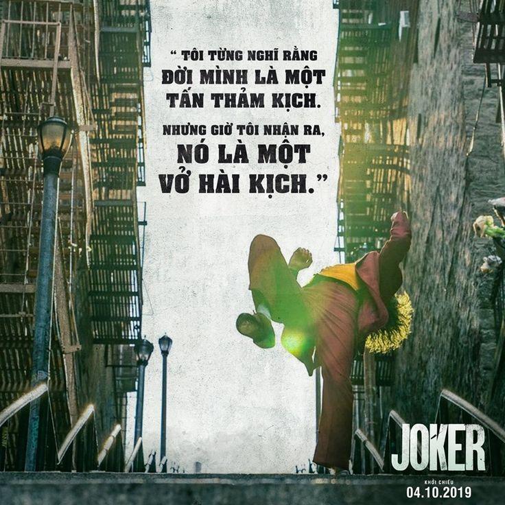 Các câu nói hay trong phim Joker 2019 #Joker_2019   Joker. Cười