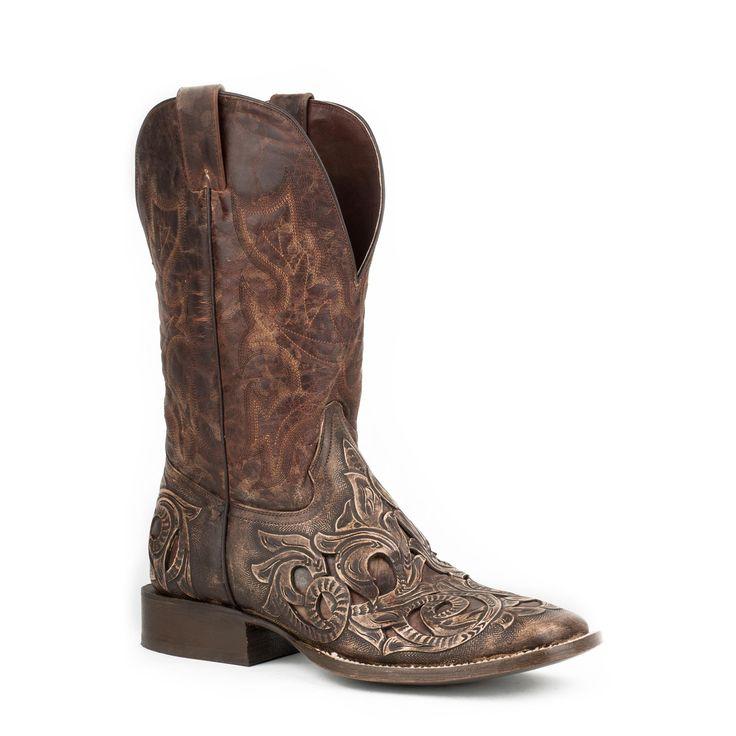 Stetson Copper Boot Brown