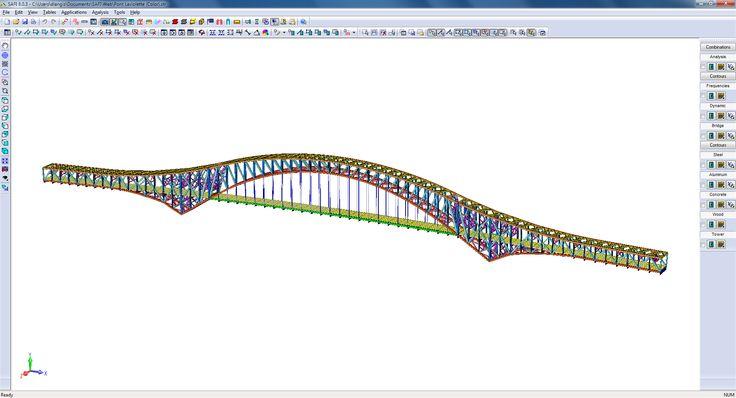 """Cette image représente un dessin de pont en 3D. Elle représente la culture numérique, mathématique  et scientifique parce les ingénieurs utilisent un logiciel numérique pour donner une """"réalité"""" à leurs calculs. Cette réalité que prend leur travail n'est pas proprement matérielle, ce qui constitue le progrès scientifique."""