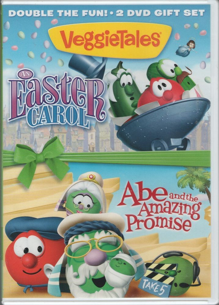 Veggietales An Easter Carol Abe And The Amazing Promise 2016 Dvd Rated G Veggietales Dvd Gift Fun