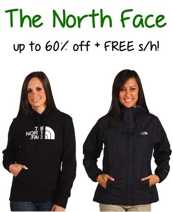 The North Face Sale: up to 60% off + FREE Shipping!