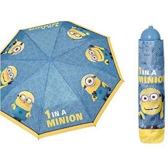 Minions Ombrello blu