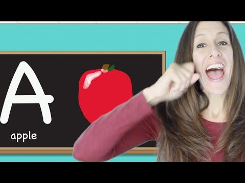 Phonics, alphabet and sign language children's song by Patty Shukla - YouTube