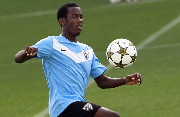 OLINGA, Fabrice | Forward | Málaga CF (ESP) | @fabriceolinga | Click on photo to view skills