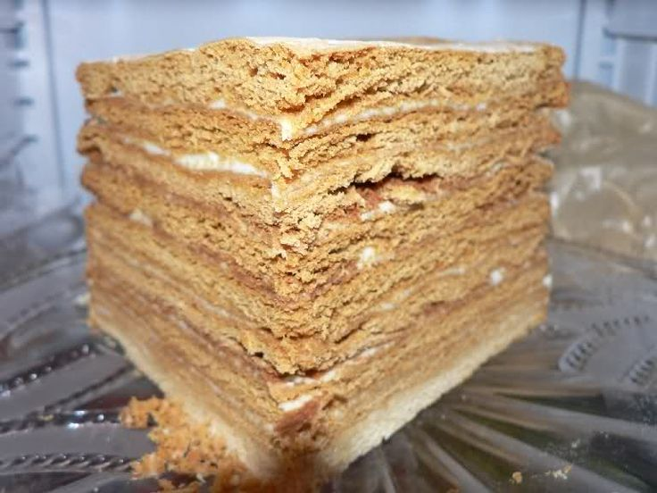 Торт медовый (бабушкин) : Лелькины рецепты