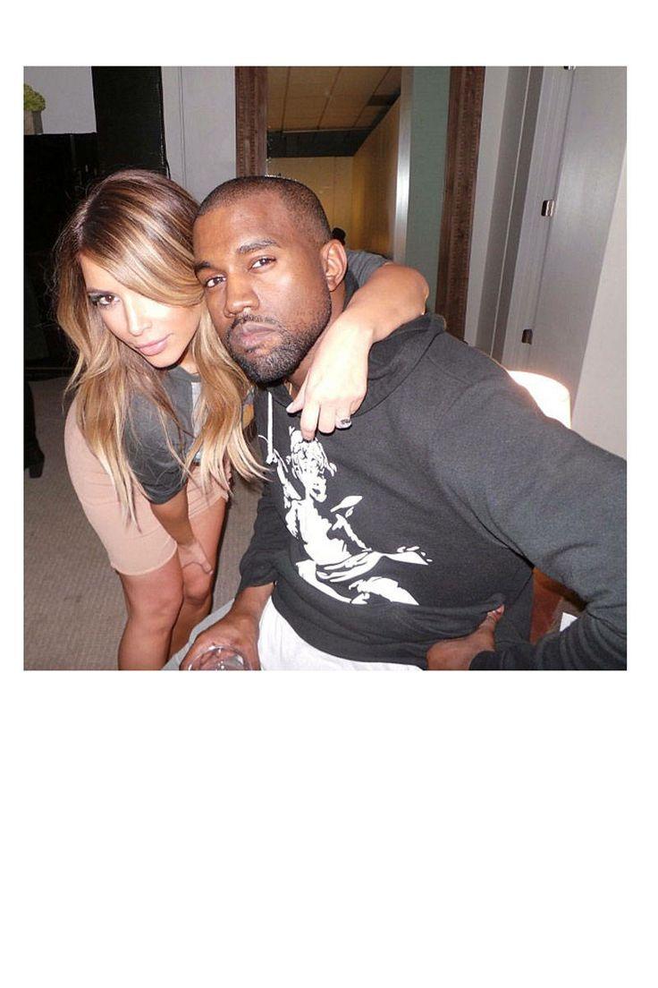2013 celebrity selfies: Kim Kardashian & Kanye West