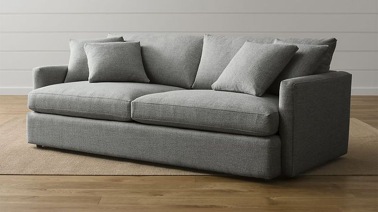 "Family Room - This is the most comfortable sofa ever (that also still looks good) - Lounge II 93"" Sofa 