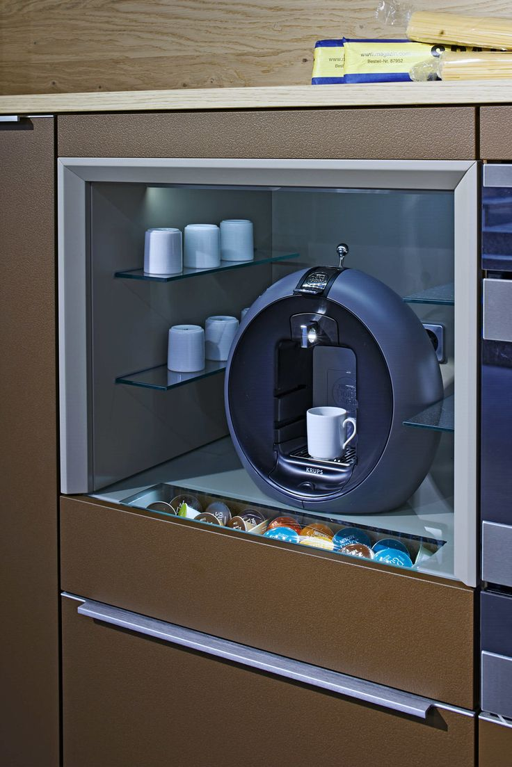 goldreif Profile - coffee unit - Showroom Herford