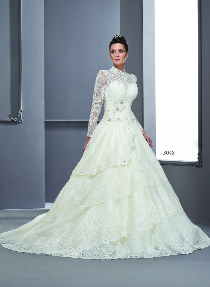 Long Sleeve Wedding Dress Darius Cordell Fashion Ltd