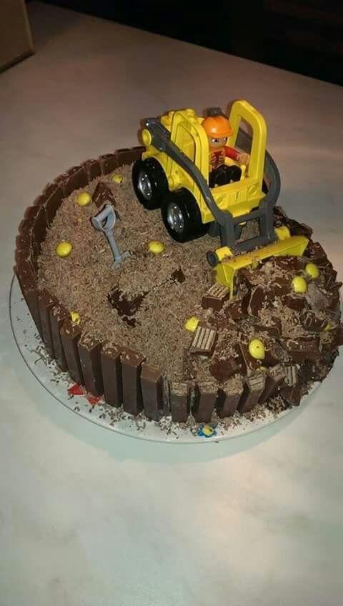 Bulldozer taart