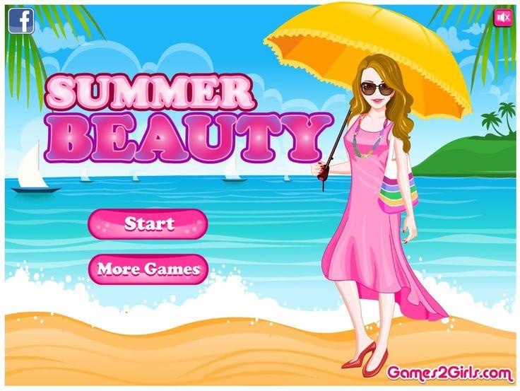 Nadszedł czas wakacji! Postaraj się dobrać ciekawe ubrania dla dziewczyny, która odpoczywa na piaszczystej plaży. http://www.ubieranki.eu/ubieranki/10016/letnia-pieknosc.html