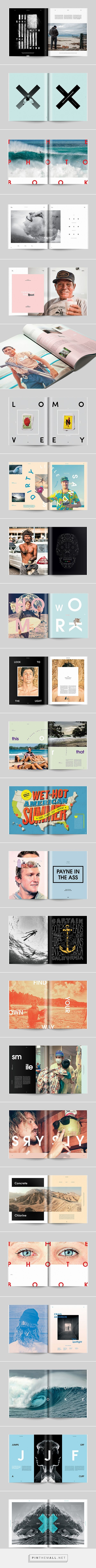 Transworld Surf Features on Behance - created via https://pinthemall.net
