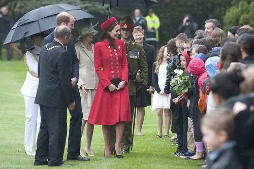 Day one: The Duke and Duchess of Cambridge in Wellington, New Zealand   Flickr - Photo Sharing!