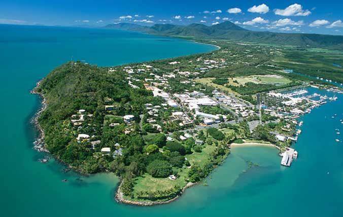 Port Douglas from the air #portdouglas