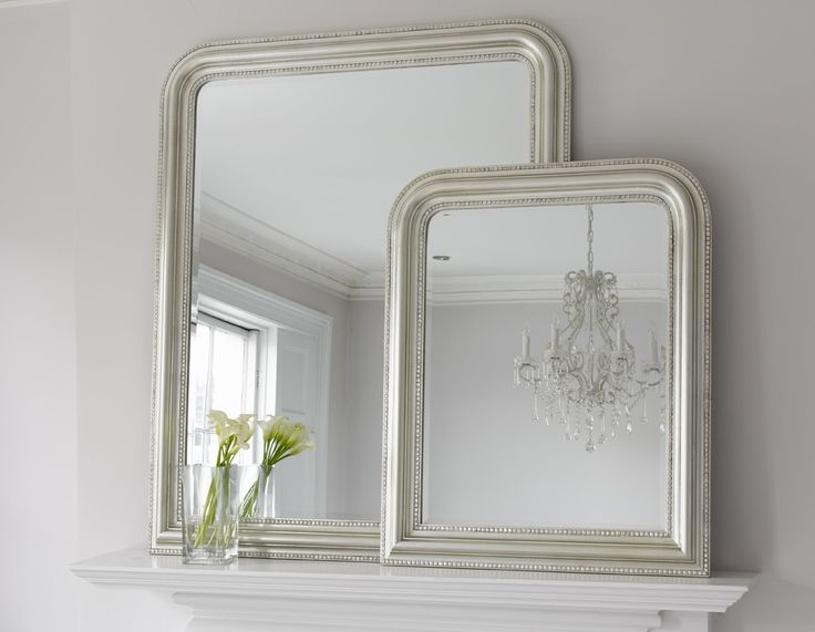 Part of our classic collection, the Hampshire mirror will hang perfectly above a fireplace, a console table or resting on top of a chest of drawers. The frame features attractive beading and the mirror is detailed with a bevel. Choose from two sizes and four finishes: painted silver, grey, gold or white. Price £0.00