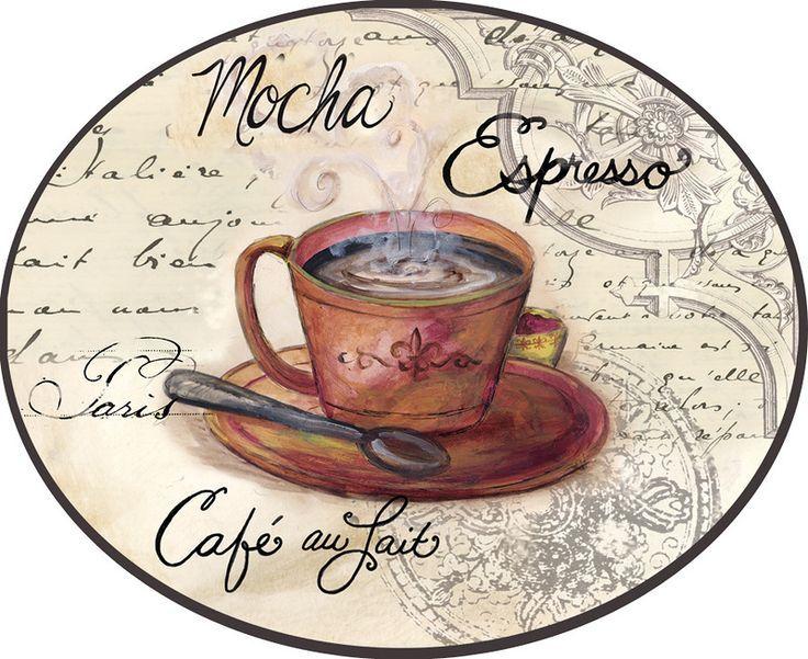 Картинки для декупажа кофейная