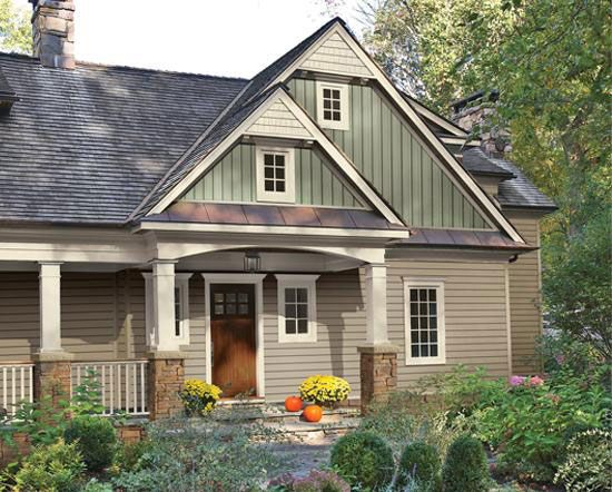 Popular vinyl siding color combinations quality siding for your home from tristate house - Quality home exteriors ...