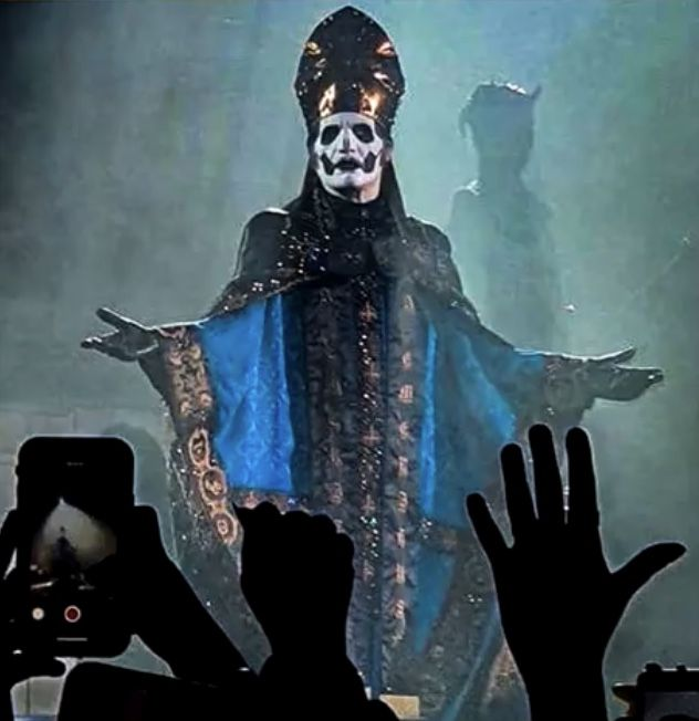 Papa Emeritus Iv Ghost Papa Band Ghost Ghost And Ghouls