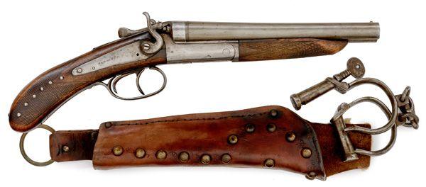 Frank Canton's Sawed-Off Double Barrel Shotgun