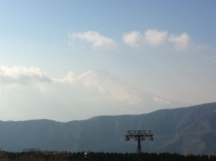 Mt.Fuji from Owakudani