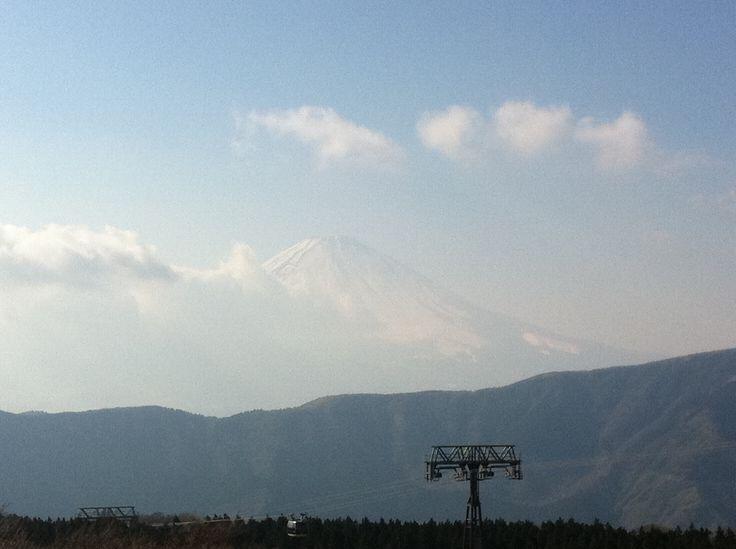 Mt.Fuji from Owakudani