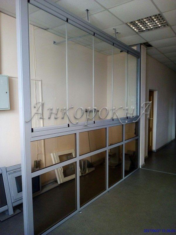 Безрамное остекление помещения в СПб - фото работ
