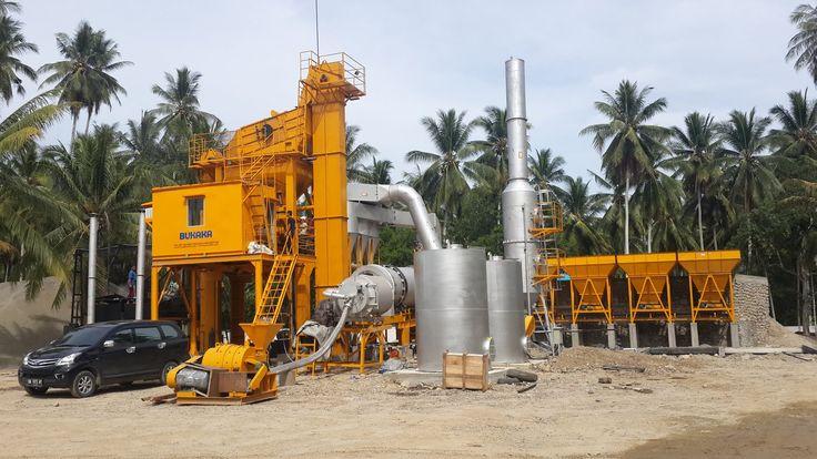Asphalt Mixing Plant 800P-SA, Lokasi di Toli Toli | BUKAKA - Road Construction Equipment | www.rce-bukaka.com