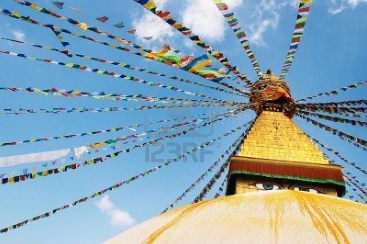 Buddhist temple - Nepal