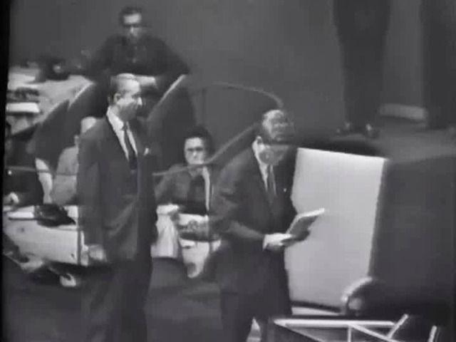 JFK Address at U.N. General Assembly, 25 September 1961 - John F. Kennedy Presidential Library & Museum.
