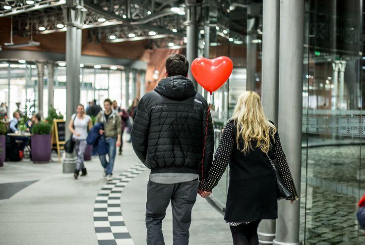Walentynki w Starym Browarze - drukowanie zdjęć z #instagramu #starybrowar #walentynki #instadruk #fun #photo