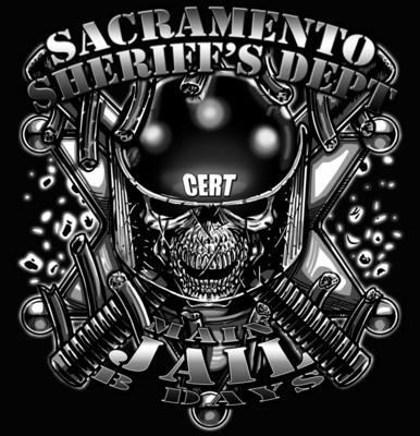Sacramento Sheriff's Department Jail CERT $19.95