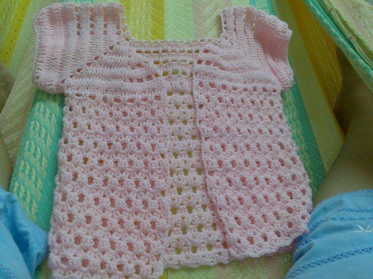 Chaleco niña tejido a crochet - Imagui