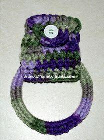 Amy's Crochet Creative Creations: Crochet Towel Holder