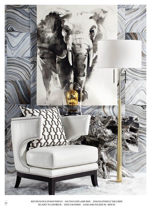 Collectively cool. ZGallerie - http://www.homedecoras.net/collectively-cool-zgallerie