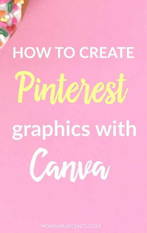 This was so helpful! She walks you step-by-step on how to create a Pinterest graphic in Canva. This is perfect for new Canva users! | pinterest tips | blog design | blog graphics |