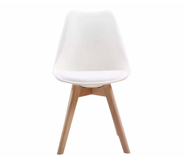 Ξύλινες Καρέκλες : MARTIN Καρέκλα PP Λευκό Εσ.Χώρου ΕΜ136,1