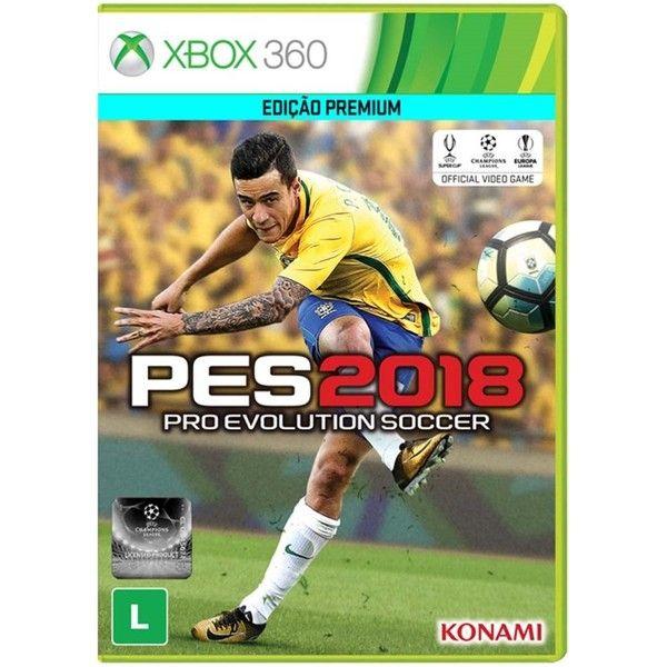 Game Pro Evolution Soccer 2018 Xbox360 Jogos De Xbox 360 Pro Evolution Soccer Xbox