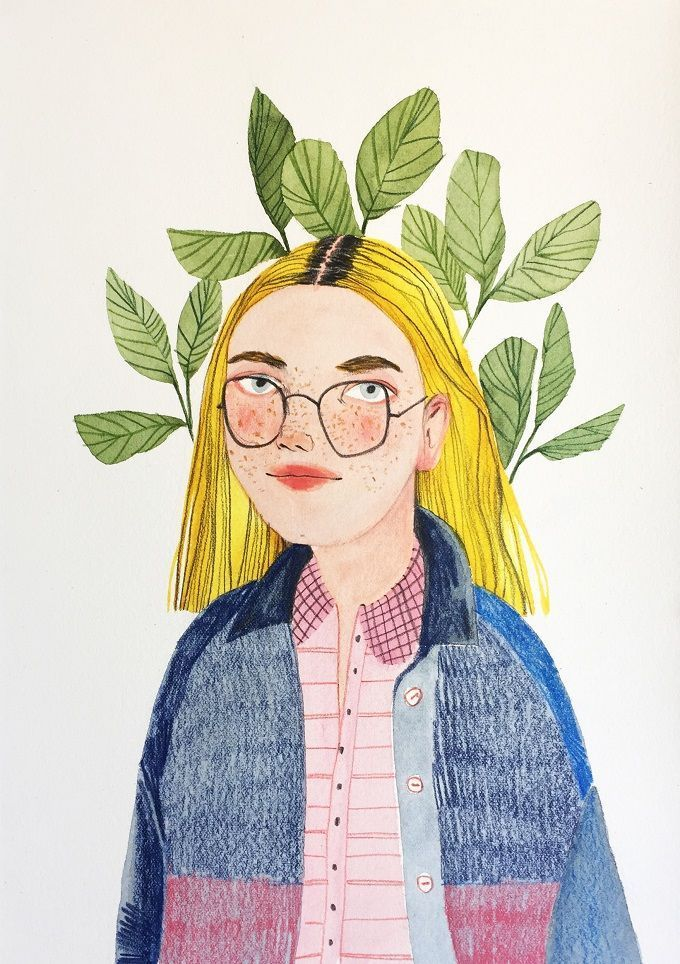 Portraits and Botanicals by Valentina Armstrong