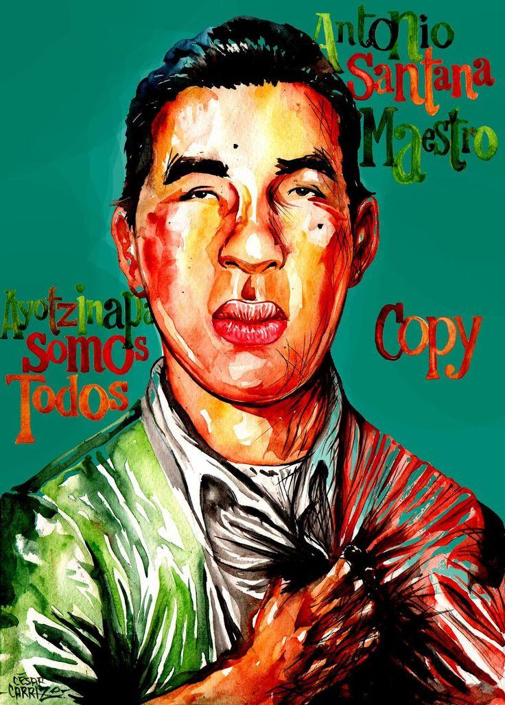 Yo, César Carrizo, quiero saber donde está Antonio Santana Maestro.