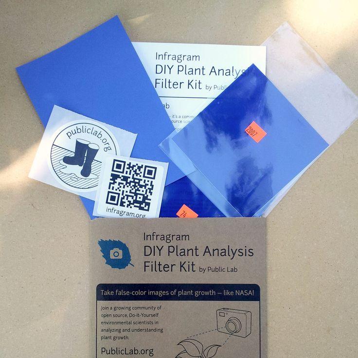 Infragram DIY Filter Pack